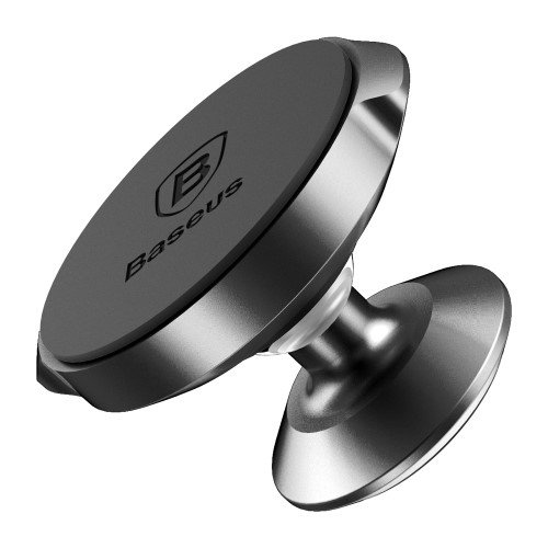 BASEUS Universal Magnetic Car Mount Cell Phone Holder (Vertical Type) - Black