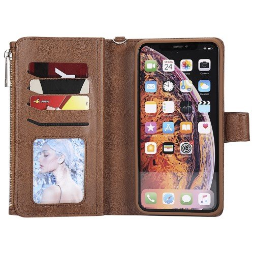 Detachable 2-in-1 Zipper iPhone XS Max